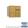 Salsbury 3707D-05GRP 4C Mailboxes 5 Tenant Doors Rear Loading