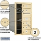 Salsbury 3707S-05SFP 4C Mailboxes 5 Tenant Doors Front Loading