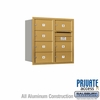 Salsbury 3708D-07GRP 4C Mailboxes 7 Tenant Doors Rear Loading