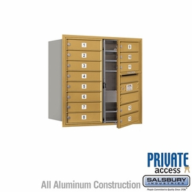 Salsbury 3708D-13GFP 4C Mailboxes 13 Tenant Doors Front Loading