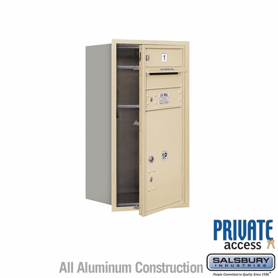 Salsbury 3708S-01SFP 4C Mailboxes 1 Tenant Doors Front Loading