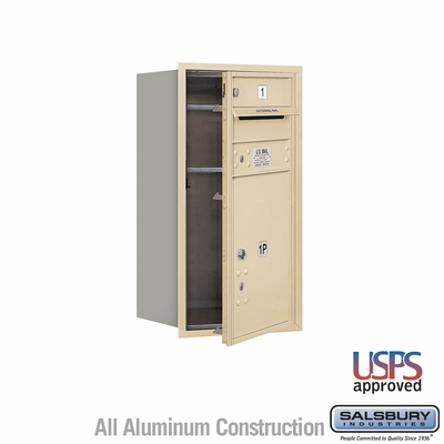 Salsbury 3708S-01SFU 4C Mailboxes 1 Tenant Doors Front Loading