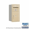 Salsbury 3708S-01SRP 4C Mailboxes 1 Tenant Doors Rear Loading