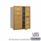 Salsbury 3710D-06GFU 4C Mailboxes 6 Tenant Doors Front Loading