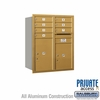 Salsbury 3710D-07GRP 4C Mailboxes 7 Tenant Doors Rear Loading