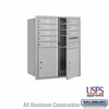 Salsbury 3710D-08AFU 4C Mailboxes 8 Tenant Doors Front Loading