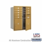 Salsbury 3710D-08GFU 4C Mailboxes 8 Tenant Doors Front Loading