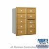Salsbury 3710D-09GRP 4C Mailboxes 9 Tenant Doors Rear Loading