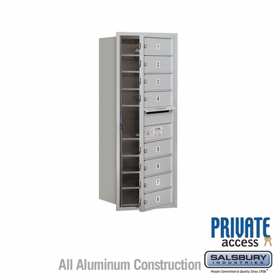 Salsbury 3710S-08AFP 4C Mailboxes 8 Tenant Doors Front Loading