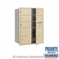 Salsbury 3711D-05SFP 4C Mailboxes 5 Tenant Doors Front Loading