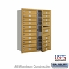 Salsbury 3711D-19GFU 4C Mailboxes 19 Tenant Doors Front Loading