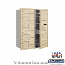 Salsbury 3711D-19SFU 4C Mailboxes 19 Tenant Doors Front Loading