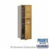 Salsbury 3711S-02GFP 4C Mailboxes 2 Tenant Doors Front Loading