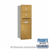 Salsbury 3711S-02GRP 4C Mailboxes 2 Tenant Doors Rear Loading