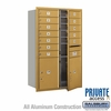 Salsbury 3712D-12GFP 4C Mailboxes 12 Tenant Doors Front Loading