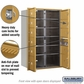 Salsbury 3713D-11GFP 4C Mailboxes 11 Tenant Doors Front Loading