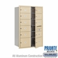 Salsbury 3713D-11SFP 4C Mailboxes 11 Tenant Doors Front Loading