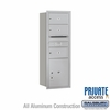 Salsbury 3713S-03ARP 4C Mailboxes 3 Tenant Doors Rear Loading