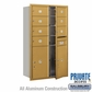 Salsbury 3714D-07GFP 4C Mailboxes 7 Tenant Doors Front Loading