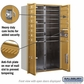 Salsbury 3714D-14GFP 4C Mailboxes 14 Tenant Doors Front Loading