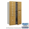 Salsbury 3714D-16GFP 4C Mailboxes 16 Tenant Doors Front Loading