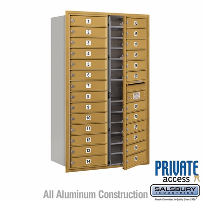 Salsbury 3714D-26GFP 4C Mailboxes 26 Tenant Doors Front Loading