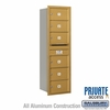 Salsbury 3714S-06GRP 4C Mailboxes 6 Tenant Doors Rear Loading