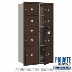 Salsbury 3716D-07ZFP 4C Mailboxes 7 Tenant Doors Front Loading