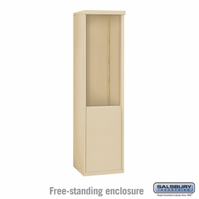 Salsbury 3910S-SAN Free-Standing Enclosure - for 3710 Single Column Unit - Sandstone