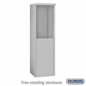 Salsbury 3907S Free-Standing Enclosure For 3707S 4C Mailboxes