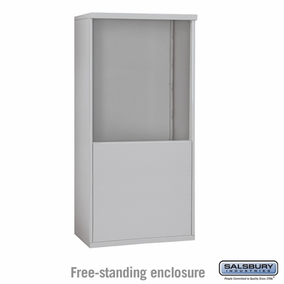 Salsbury 3909D Free-Standing Enclosure For 3709D 4C Mailboxes