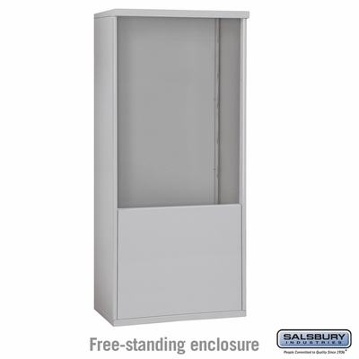 Salsbury Free-Standing Enclosure for 3711 Double Column Unit - Aluminum