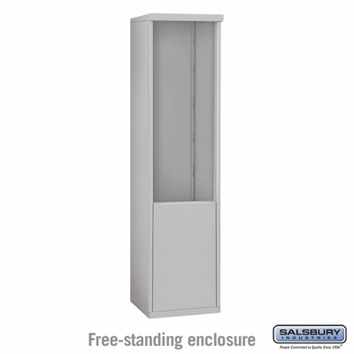 Salsbury 3911S Free-Standing Enclosure For 3711S 4C Mailboxes