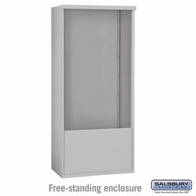3913 Double Column Free-Standing Enclosure