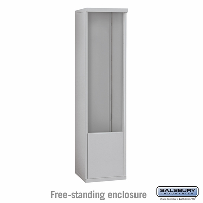 Salsbury 3913S Free-Standing Enclosure For 3713S 4C Mailboxes