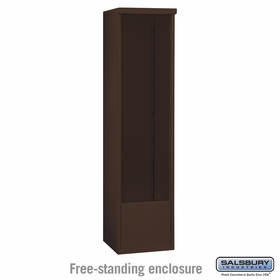 Salsbury 3915S-BRZ Salsbury Free-Standing Enclosure for 3715 Single Column Unit Bronze