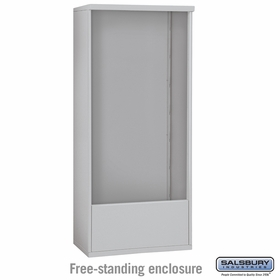Salsbury 3916D Free-Standing Enclosure For 3716D 4C Mailboxes