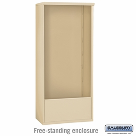 Salsbury Free-Standing Enclosure for 3716 Double Column Unit - Sandstone