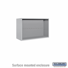 Salsbury 3805D Surface Mount Enclosure For 3705D 4C Mailboxes