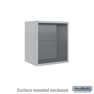 Salsbury 3805S Surface Mount Enclosure For 3705S 4C Mailboxes