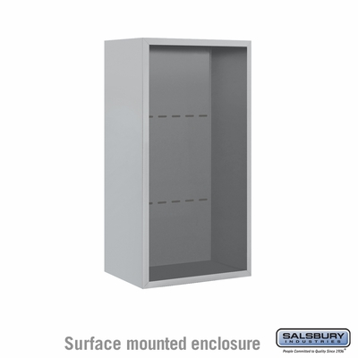 Salsbury 3809S Surface Mount Enclosure For 3709S 4C Mailboxes