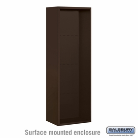 Salsbury Surface Mounted Enclosure for 3711 Single Column Unit - Bronze