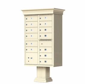 13 Door Classic Decorative CBU Mailboxes
