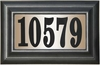 SAP-4230 Lighted Address Plaques - Manor