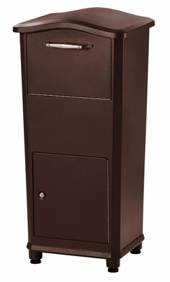 Secure Elephant Trunk Locking Mailbox for Parcel Delivery in Oil Rubbed Bronze