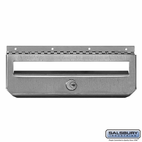 Salsbury 4521 Security Kit Option For Stainless Steel Mailbox Vertical Style