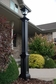 Signature Lamp Post (with aluminum ground mount) in Black