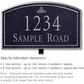 Salsbury 1422BSIL Signature Series Address Plaque