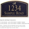 Salsbury 1420BGDS Signature Series Address Plaque