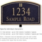 Salsbury 1420BGGL Signature Series Address Plaque